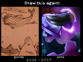 Draw this again- The whale by Dream-Yaoi