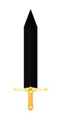 BlackShine, Drake's sword. by BlazingGaleHF