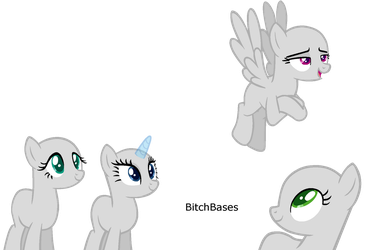 MLP Base: I was the first in Shining's harem by KIngBases