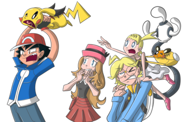 Pokemon XY [Derp Concept] by ecumsille