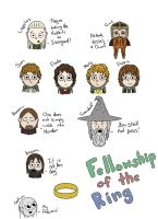 Fellowship of the Ring by Saza-Productions