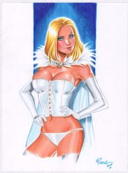 White Queen - copics by jFury