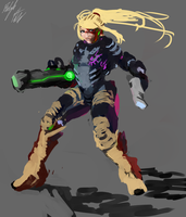 Samus WIP by PeterPrime