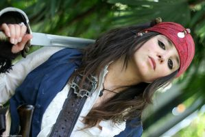 Elo Sparrow, sword pose by elodie50a