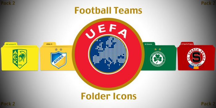 UEFA Football Teams Folder Icons Pack 2 by ChrisNeville85
