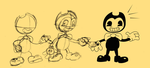 Bendy Draw Bendy And Bendy Draw Bendy by Rui0730