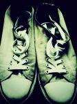 brother's shoes by Evabnormal
