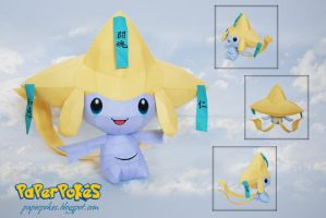 Pokemon Papercraft - Jirachi