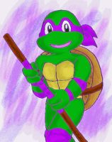 old toon Donatello by koju327
