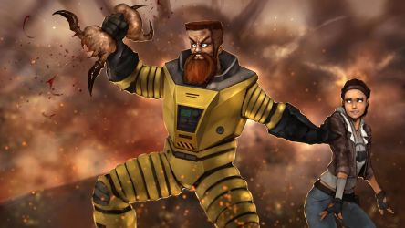 Early Gordon Freeman aka IVAN THE SPACE BIKER by DarrenGeers