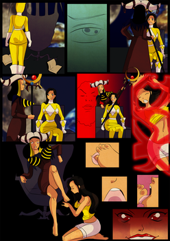 Rita's harem chapter 1 page 3 comic by Lufidelis by Kamenrider1