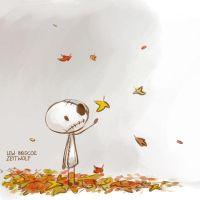 Mox, September Leaves by enonea