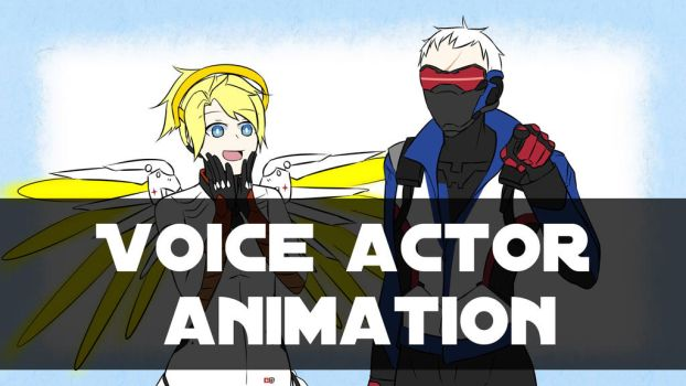 [Overwatch] 76Mercy (Voice actor animation) by MHD0524