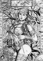 Elektra Thousands Leaves by leandro-sf