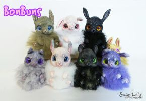BonBuns! Original OOAK Art Dolls FOR SALE by Sovriin