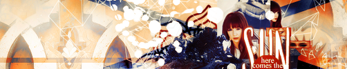 Here Comes the Sun Banner by divergensea