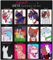 art summary 2k15 by catshlt