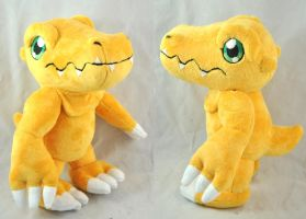 Agumon -FOR SALE- by Lexiipantz