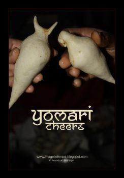 Yomari Cheers by lalitkala