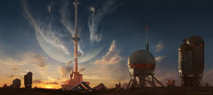 Space elevator by qci