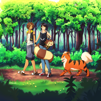 Strolling with the Pokemonz by BritishMuffin