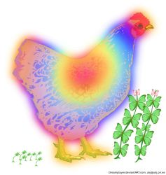 Chickens prana diet by Dreamplayer