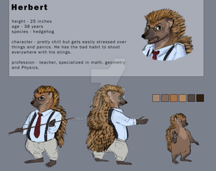 Jungle Madness - Character reveal 1# - Herbert by Matekok