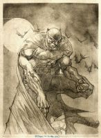 BATMAN pencils by rogercruz