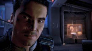 Kaidan on Shepard's Couch - Mass Effect 3 by loraine95