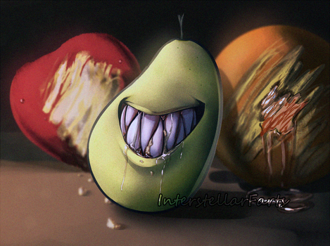 Pear by InterstellarFarts