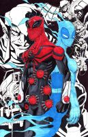 Superior Spider-Man Collage by justinprime
