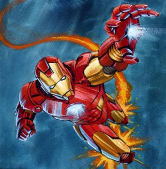Iron Man by BrunoBull