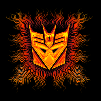 decepticons fire by Phendranaguardian