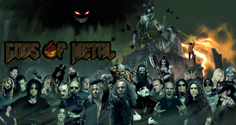 Gods of Metal 2.1 by Commandorion
