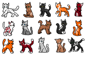 Free cat adoptables (Closed) by EmoBoysSweetHeart