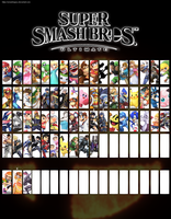 Smash Bros for Switch Roster Update 2 by SmashLegacy