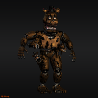 Nightmare Freddy by HectorMKG