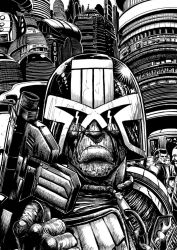 Dredd in your face 300 by ausven