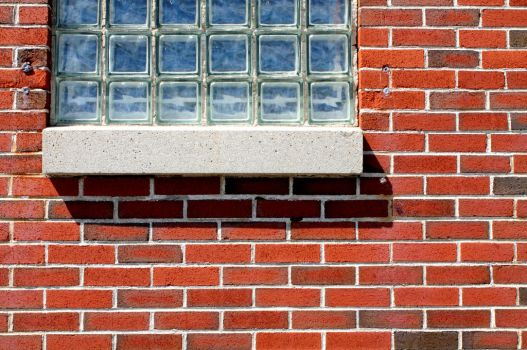 Brick and Glass at Portland Head Lighthouse 2 by JJPoatree