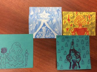 SU post it notes by Laylabelle97