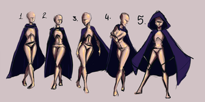 Cape Poses by keys007