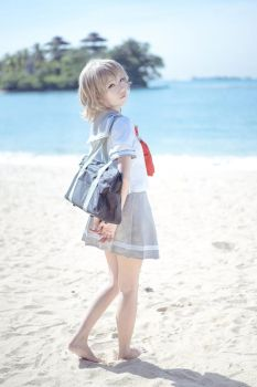 Watanabe You cosplay by Tinneh by tinneh