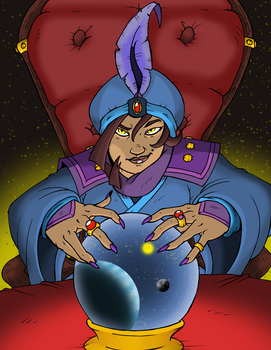 Fortune Teller by The-Great-RKL