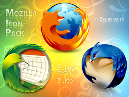 Mozilla Icon Pack by Benjigarner