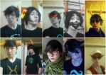 COSPLAY TIME: bunch of my cosplay tests(homestuck) by Dead-Batter