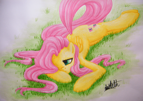 fluttershy sweet dreams by dantethehuman