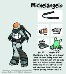 Secrets Of The Ooze: Michelangelo by mooncalfe