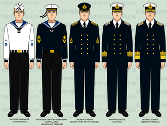 WIP - Kaiserliche Marine Parade Uniforms by Cid-Vicious