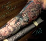 Falcor-and-Ludo-by-Todo-ABT-Tattoo by TodoArtist