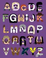 Horror Icon Alphabet by mbaboon